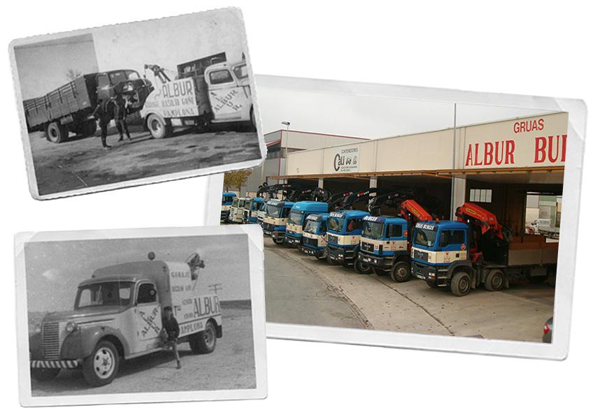 La Empresa : Grúas Alberto Burgui